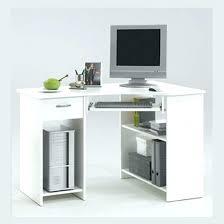 white corner desk. Contemporary Corner Corner Desk With Drawers Small  White Home Furniture   Inside White Corner Desk