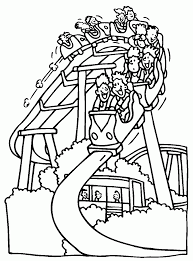 Fun Amusement Park Coloring Pages For Kids #dCb : Printable ...