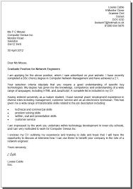 Sample Job Application Letter For A Fresh Graduate   Resume For     Cover Letters     icover org uk