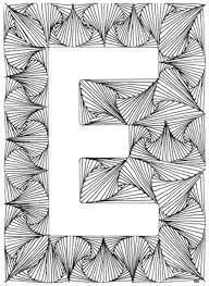 Moeilijke Kleurplaten Letters Brekelmansadviesgroep