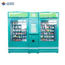 Fresh Salad Vending Machine Extraordinary China Fresh Salad Vending Machine Conveyor Belt Vending Machine With