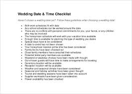 wedding checklist templates wedding checklist template 20 free excel documents download