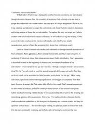 conformity vs individuality essay zoom