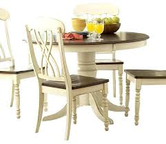 kitchen table with leaf round wood dining table with leaf dining tables enchanting white round pedestal