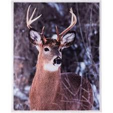 Deer Throw Blanket Walmart