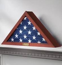 personalized flag display case. Exellent Personalized Flag Display Case Veterans With Personalized Brass Plaque  Fits A  Folded To 15 Throughout V