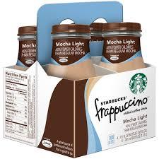 Starbucks Frappuccino Mocha Light Coffee Drink 9 5 Fl Oz