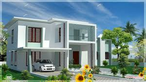 flat roof house plans kerala style contemporary designs home modern with design awesome blueprints styles small and construction floor decoration ideas
