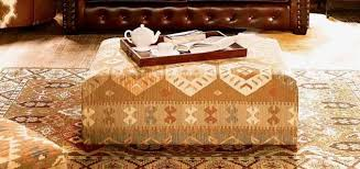 Innovative Kilim Storage Ottoman with Kilim Bench Coffee Table Coffee  Addicts