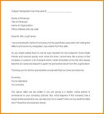 How To Write 2 Week Notice How To Write A 2 Week Notice Letter Written 30 Day Employer