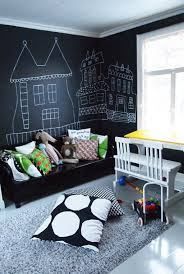 Kids Room: Kids Playroom Camp With Chalkboard Wall - Kids Playroom