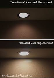 upgrade to led recessed lighting almost as easy as changing a lightbulb