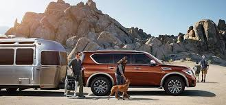 2018 nissan armada platinum. simple platinum go ahead pack the armada full the autoleveling rear suspension will help  keep vehicle level on road  and 2018 nissan armada platinum l