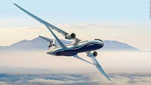 New Airplane Wing Design Boeings Radical Wing Design Unveiled Cnn Travel