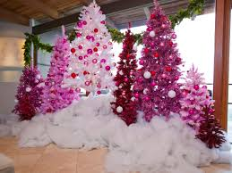 christmas trees decorated pink. Wonderful Trees Celebrate Christmas In Shades Of Pink Inside Trees Decorated L