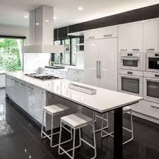 Huge Contemporary Open Concept Kitchen Photos   Open Concept Kitchen   Huge  Contemporary Galley Porcelain Floor