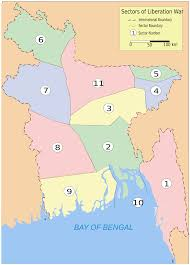 List Of Sectors In The Bangladesh Liberation War Wikipedia