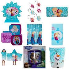 disney frozen ultimate 9 piece bathroom accessories set in home kitchen