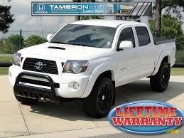 2011 Super White Toyota Tacoma V6 TRD Sport PreRunner Double Cab ...