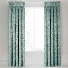loya matching mint jaquard curtains