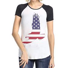 American Eagle Womens Shirt Size Chart Moald7 Womens Casual Fashion T Shirts America Eagle Round