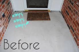 large front door matsi should be mopping the floor DIY Monogram Door Mat made in less