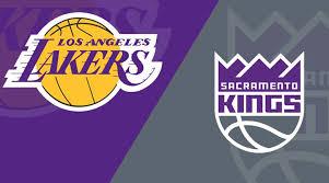 Sacramento Kings At Los Angeles Lakers 11 15 19 Starting
