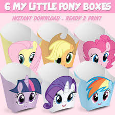 Small Picture 6 Popcorn Box My Little Pony popcorn box My Little Pony