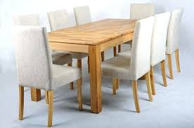 oak extending dining table furniture best solid wood extending dining table and chairs with white slipcover