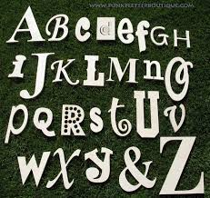unpainted wooden letters unfinished