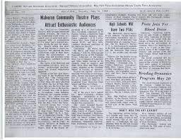 Newspaper Malverne Community Theatre Newspaper Reviews 24page24 Malverne 14