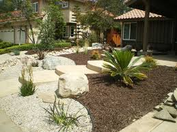 simple front yard landscape design ideas q garden post with low water  landscape design.