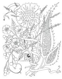 Coloring Pages Flower Essayscollegeinfo