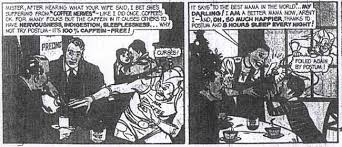 Their creations include 'charlie mccarthy' and 'mr. Anorak News Coffee Comic 5
