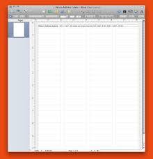 80 Labels Per Sheet Template Avery Return Address Labels 80 Per Sheet Template Google Docs