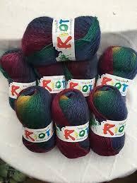 King Cole Riot Dk Multi Coloured Self Patterning Yarn 800 Gr
