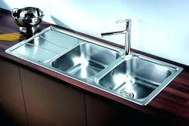 double bowl kitchen sink dimensions size