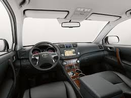 Характеристики автомобиля кроссовер Toyota Highlander 2010 - 2014г ...