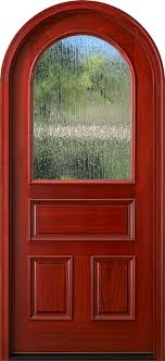 round top arched glass doors round top single entry door with rain glass