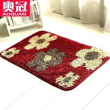 red bathroom rugs bath wondrous for large rug best bright sets