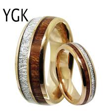 Men's Classic Love <b>Jewelry Trendy Wedding Ring</b> For Women Rose ...