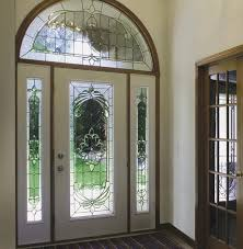 decorative glass inserts entry door