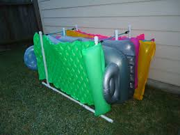 pool float rack.  Pool PVC Pool Float Rack With R