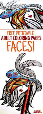 Ladies Hat Coloring Pages With Free Coloring Page For Adults Lady In