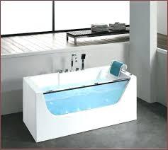 jet bath spa portable bathtub narrow freestanding jetted with glass door jets homedics photo 5 o jet bath spa