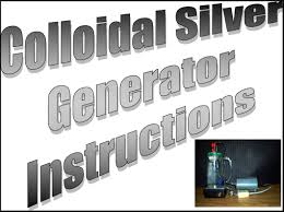 colloidal silver plans make your own using radio s parts