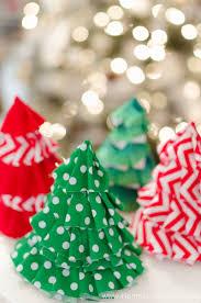 Christmas Craft Fabric Christmas Craft Idea Diy Christmas Tree Party Hats