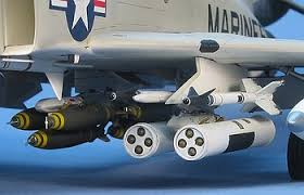 Image result for usmc f-4 with rocket pods