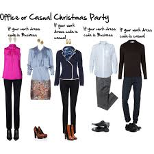 Casual or in office Christmas Party