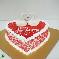 Send Romantic Anniversary Cake Online Free Delivery Gift Jaipur
